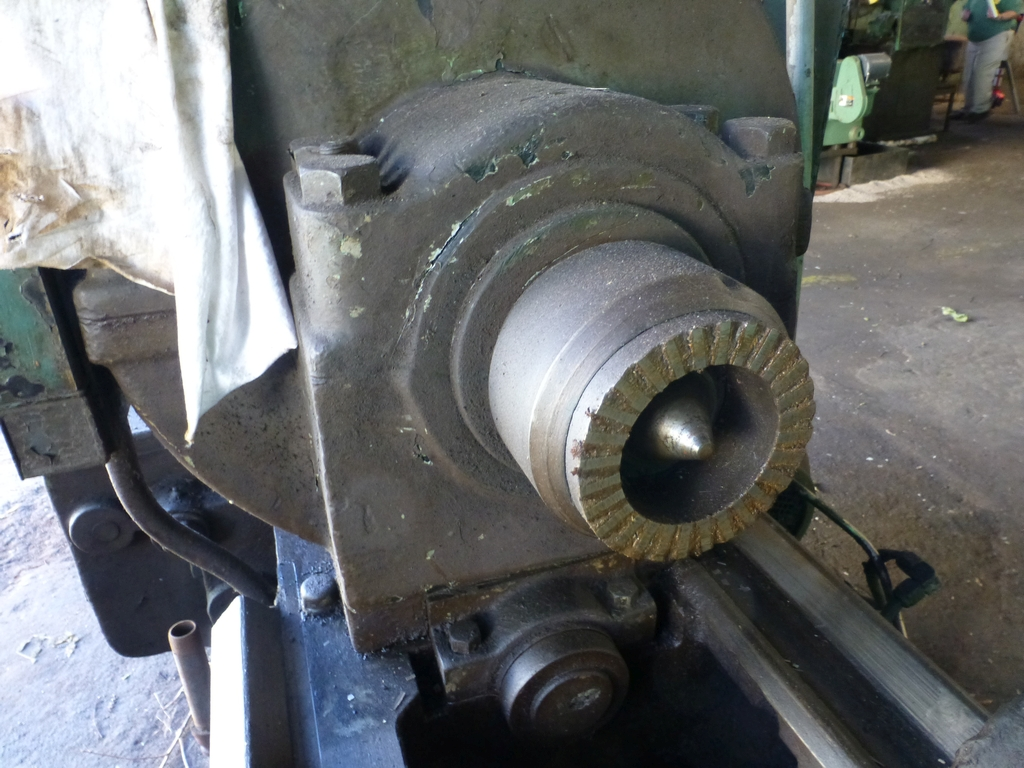 Betts Twin Carriage Axle Lathe|S/N E6417 - Image 5 of 10