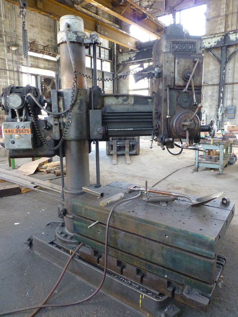 Fosdick 3' Radial Arm Drill|20-1,264 RPM - Image 2 of 12