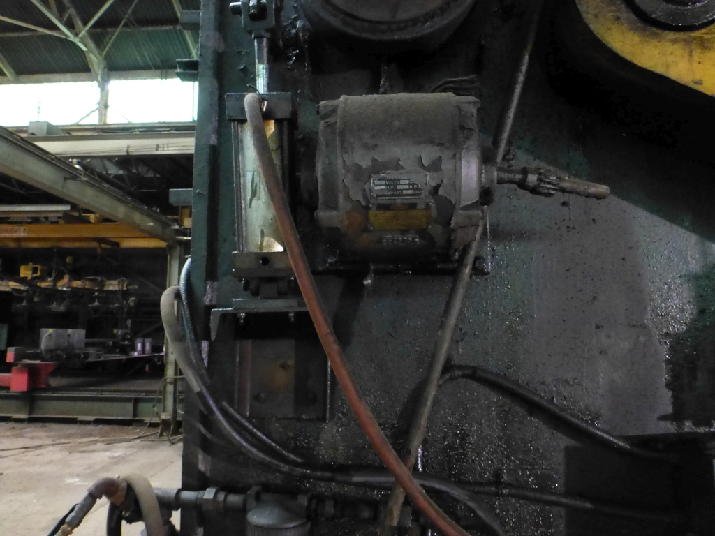 "Steelweld Mechanical Brake/Punch|Model: MO6-10; S/N: M-915; 12' 6""' LOA - 10' 6"" Between Housings; - Image 5 of 11"
