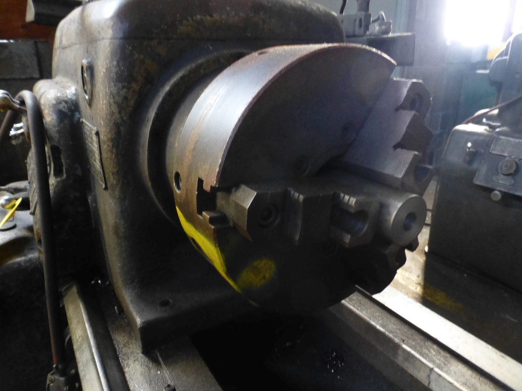 """Monarch 16"""" x 102"""" Engine Lathe With Taper Attachment; 10"""" 3-Jaw Chuck; 19-800 RPM; S/N 43077 - Image 6 of 11"""