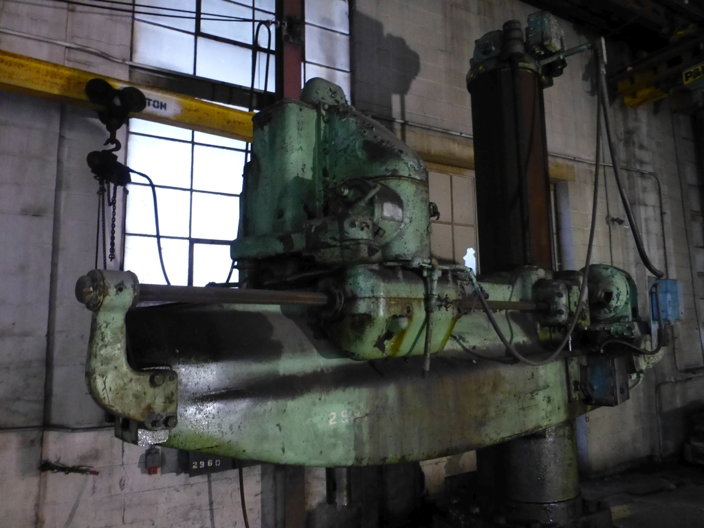 Cincinnati Bickford 8' Radial Arm Drill - Image 2 of 7