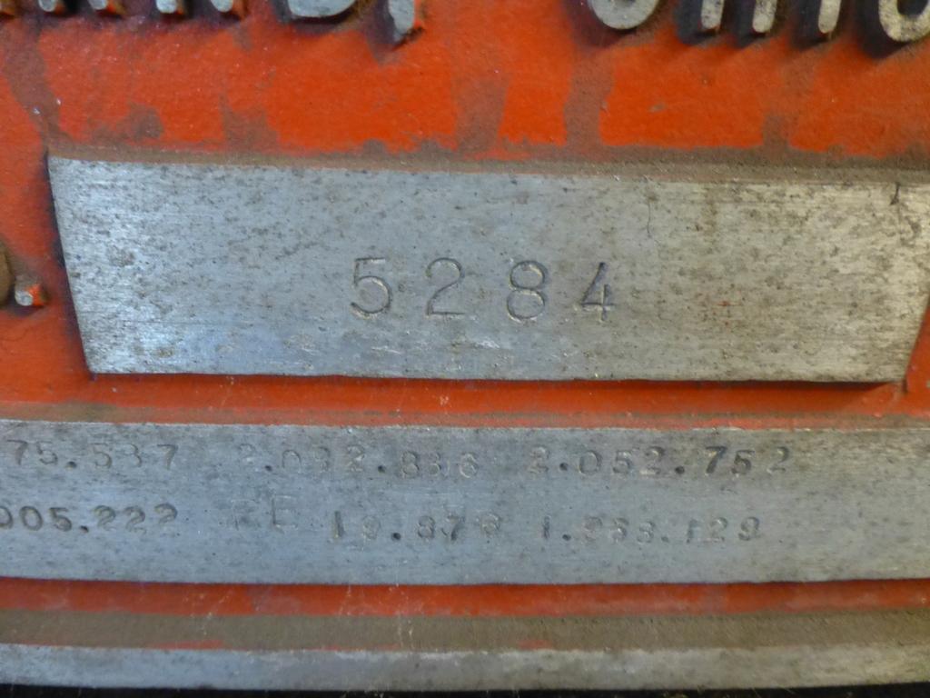 "Ajax 2-1/2"" Header Size 2-1/2 FWN; Machine No. 5284 9 1/2"" Stroke - Image 15 of 20"