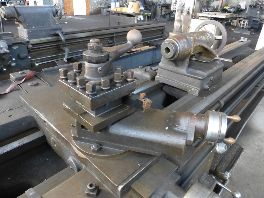 """Monarch 16"""" x 102"""" Engine Lathe With Taper Attachment; 10"""" 3-Jaw Chuck; 19-800 RPM; S/N 43077 - Image 7 of 11"""