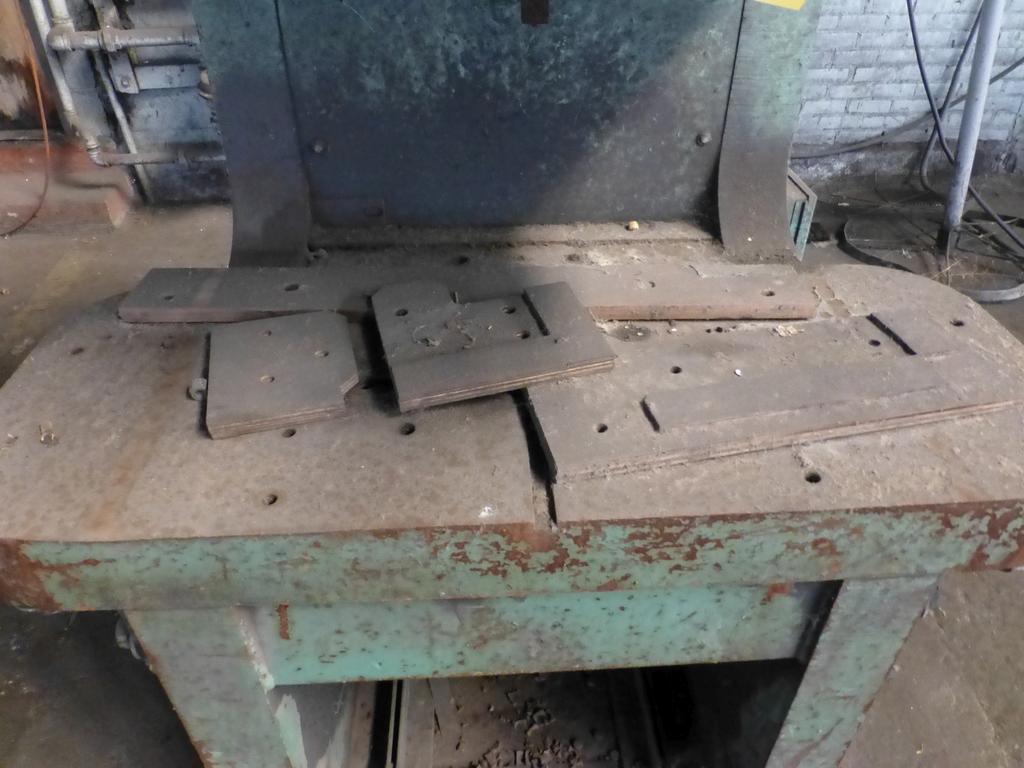 "HMI 150 Ton Hydraulic Press|Model PJP11814 S/N:101-47-138; 14"" Throat - Image 4 of 8"