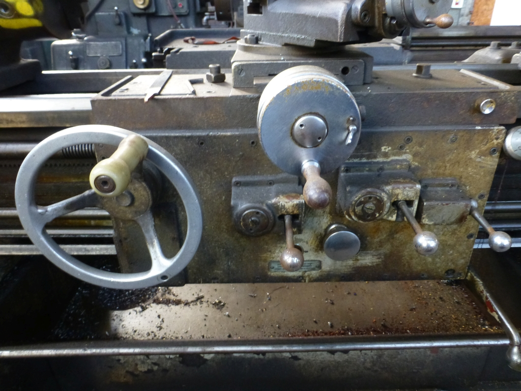 """Monarch 16"""" x 102"""" Engine Lathe With Taper Attachment; 10"""" 3-Jaw Chuck; 19-800 RPM; S/N 43077 - Image 8 of 11"""