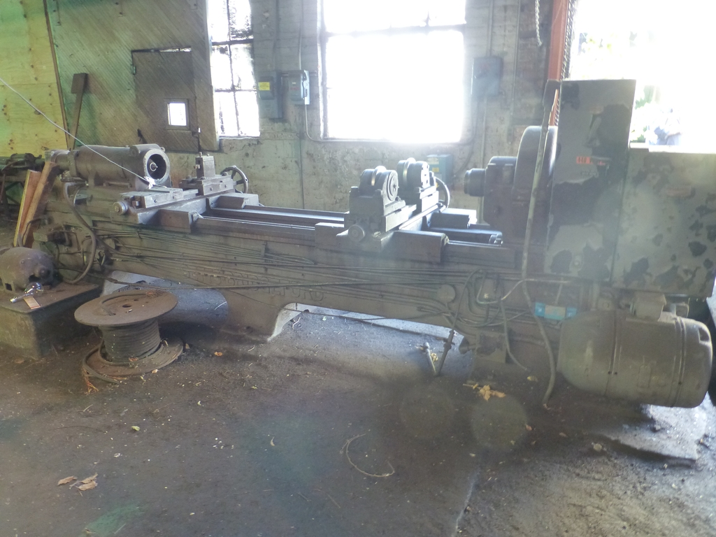 Betts Twin Carriage Axle Lathe|S/N E6417 - Image 3 of 10
