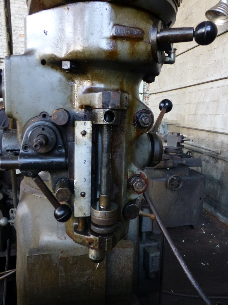 """Bridgeport Series II Special Vertical Mill