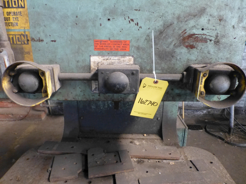 "HMI 150 Ton Hydraulic Press|Model PJP11814 S/N:101-47-138; 14"" Throat - Image 6 of 8"