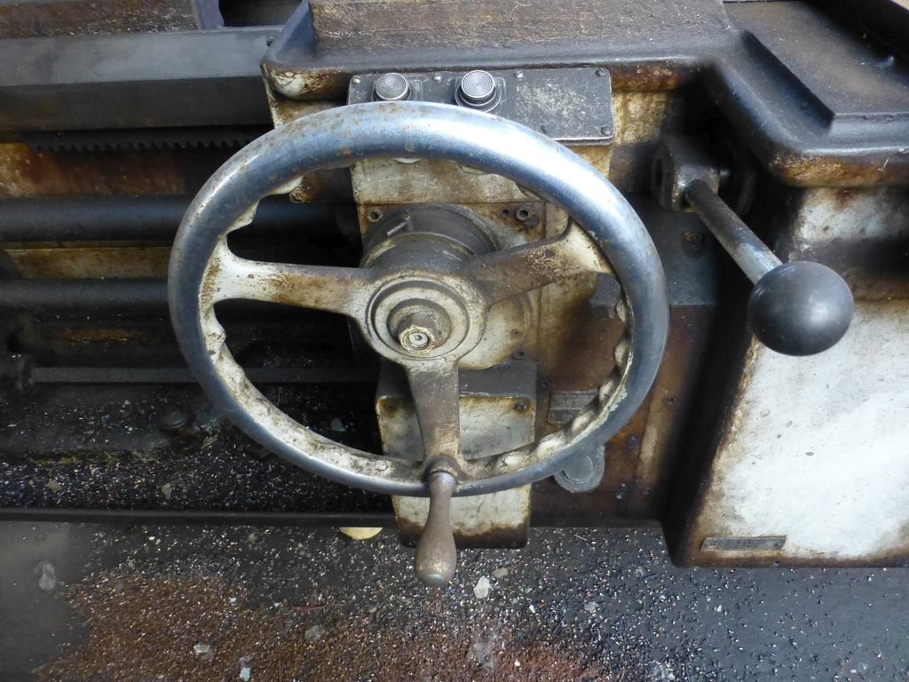 """Monarch 40"""" x 204"""" Engine Lathe Model No. 32NN; With Taper Attachment; 40"""" Actual Swing; 12"""" 3-Jaw - Image 9 of 19"""