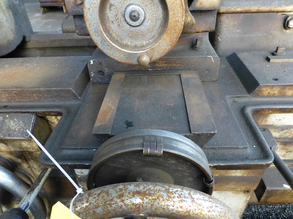 """Monarch 40"""" x 204"""" Engine Lathe Model No. 32NN; With Taper Attachment; 40"""" Actual Swing; 12"""" 3-Jaw - Image 12 of 19"""