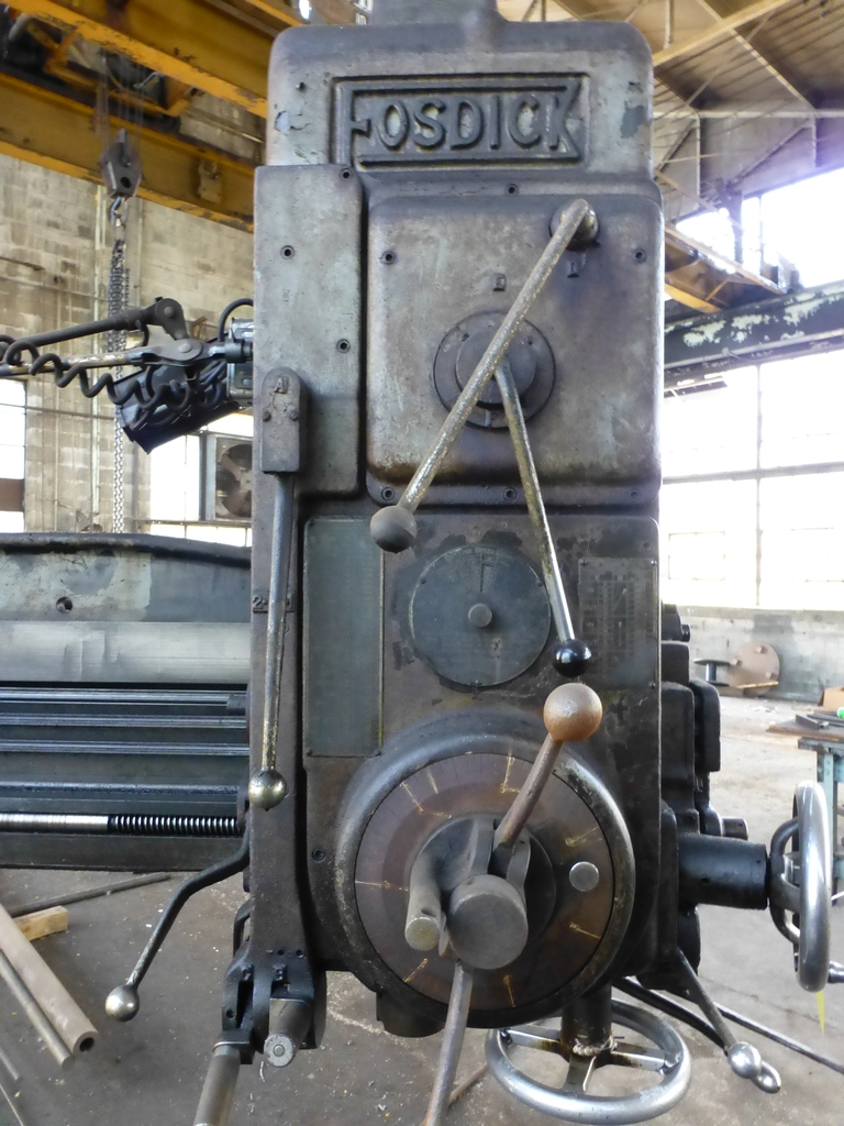 Fosdick 3' Radial Arm Drill|20-1,264 RPM - Image 4 of 12
