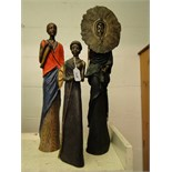 Lot 471 - 3 Soul Journeys Maasai figures