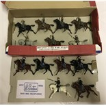 13 x Britains lead US Civil War Cavalry soldiers.