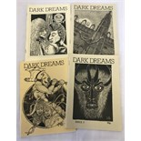 4 issues of 'Dark Dreams'. Issues #3, #4, #5 and #6.