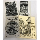 3 issues of 'Revelations from Yuggoth together with H.P. Lovecraft - Fungi from Yuggoth.
