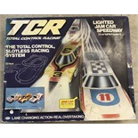 A boxed TCR Total Control Racing slotless racing system.