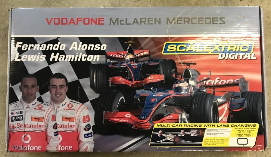 Lot 5 - A boxed McLaren Mercedes Scalextric Digital set.