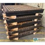 """60"""" X 60"""" ACORN WELDING PLATE **ONLY (1) PLATE PER LOT**LOCATED AT 1400 OAK ST., TOLEDO, OHIO**"""