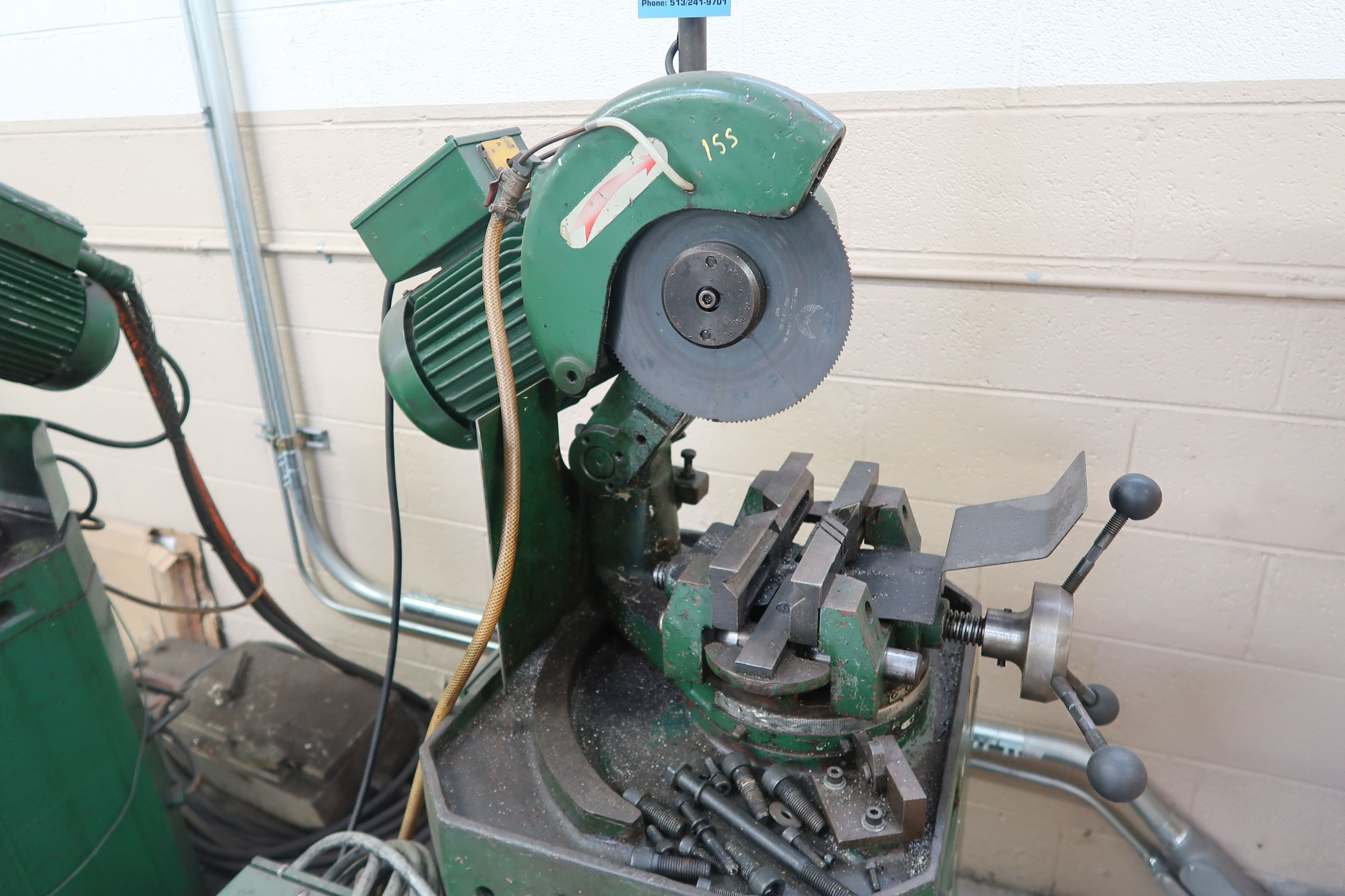 """10"""" BEWO MANUAL COLD SAW WITH PIVOT HEAD - Image 2 of 6"""