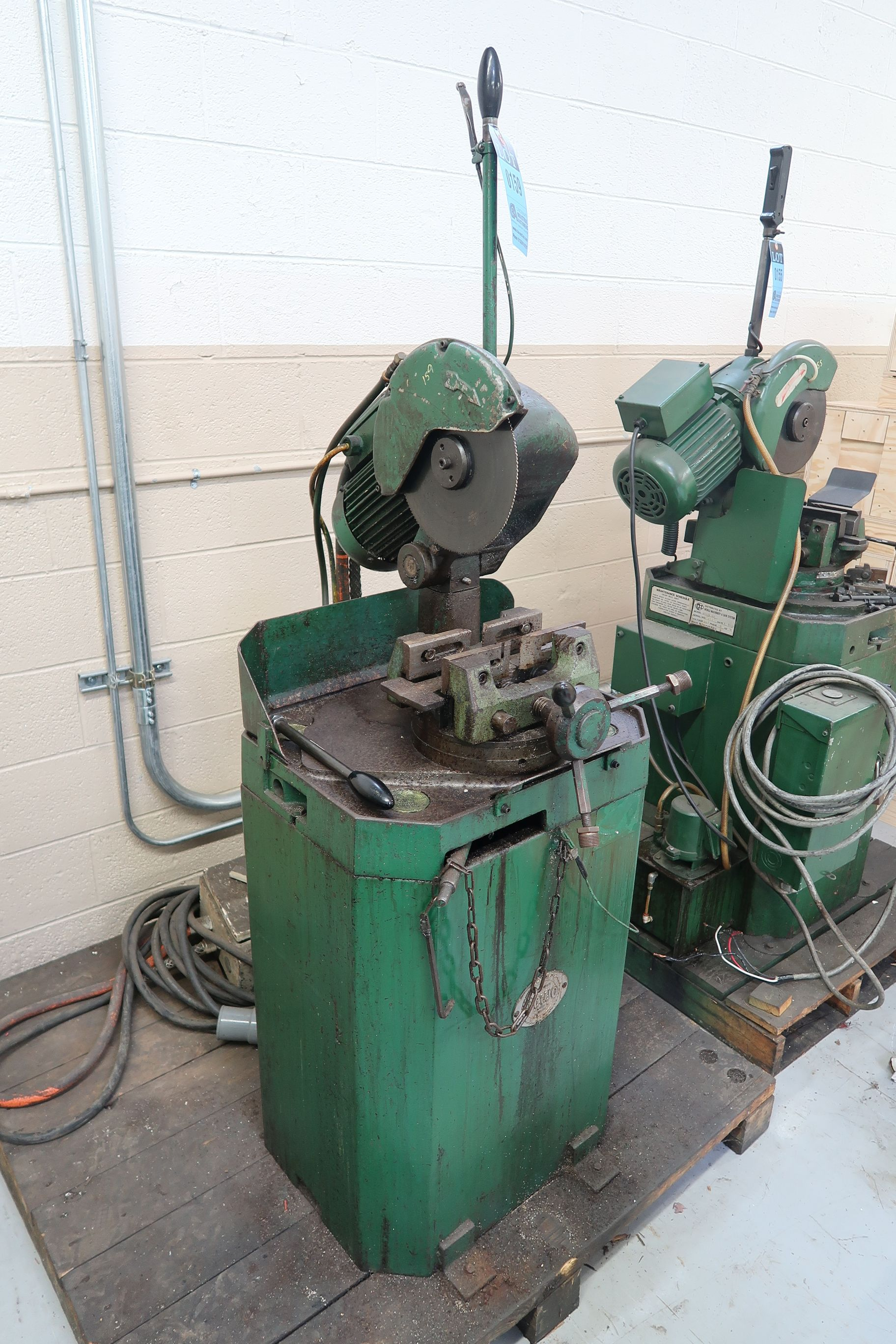 """10"""" BEWO MANUAL COLD SAW WITH PIVOT HEAD - Image 2 of 5"""