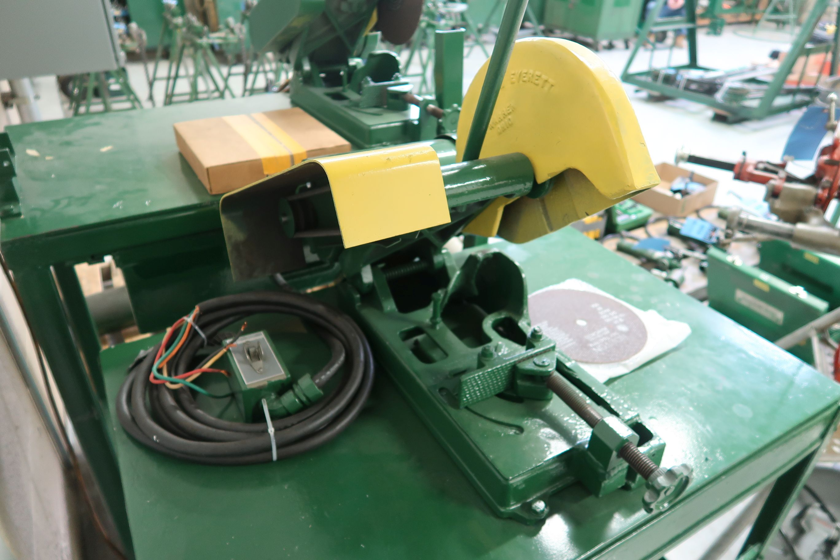 """14"""" EVERETT CART MOUNTED CHOP SAW - Image 3 of 3"""