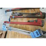"36"" STEEL PIPE WRENCHES"