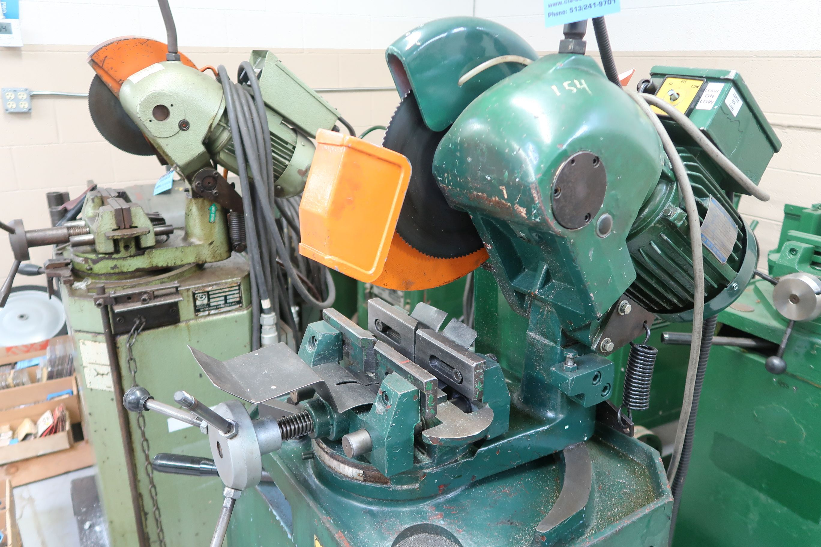 """10"""" BEWO MANUAL COLD SAW WITH PIVOT HEAD - Image 3 of 6"""