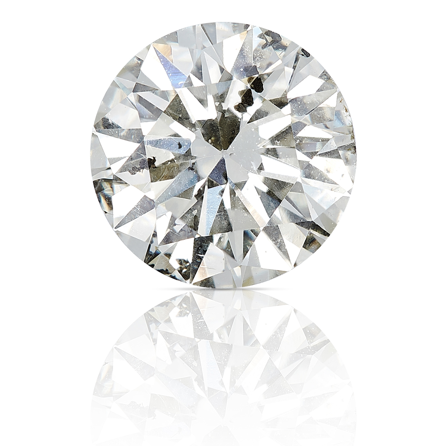 A ROUND CUT MODERN BRILLIANT DIAMOND TOTALLING 1.07cts, UNMOUNTED.