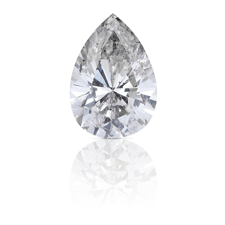 A 1.01ct PEAR SHAPED BRILLIANT CUT DIAMOND, UNMOUNTED.