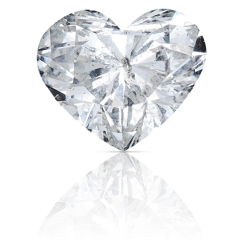 A 1.51ct HEART SHAPED BRILLIANT CUT DIAMOND, UNMOUNTED.