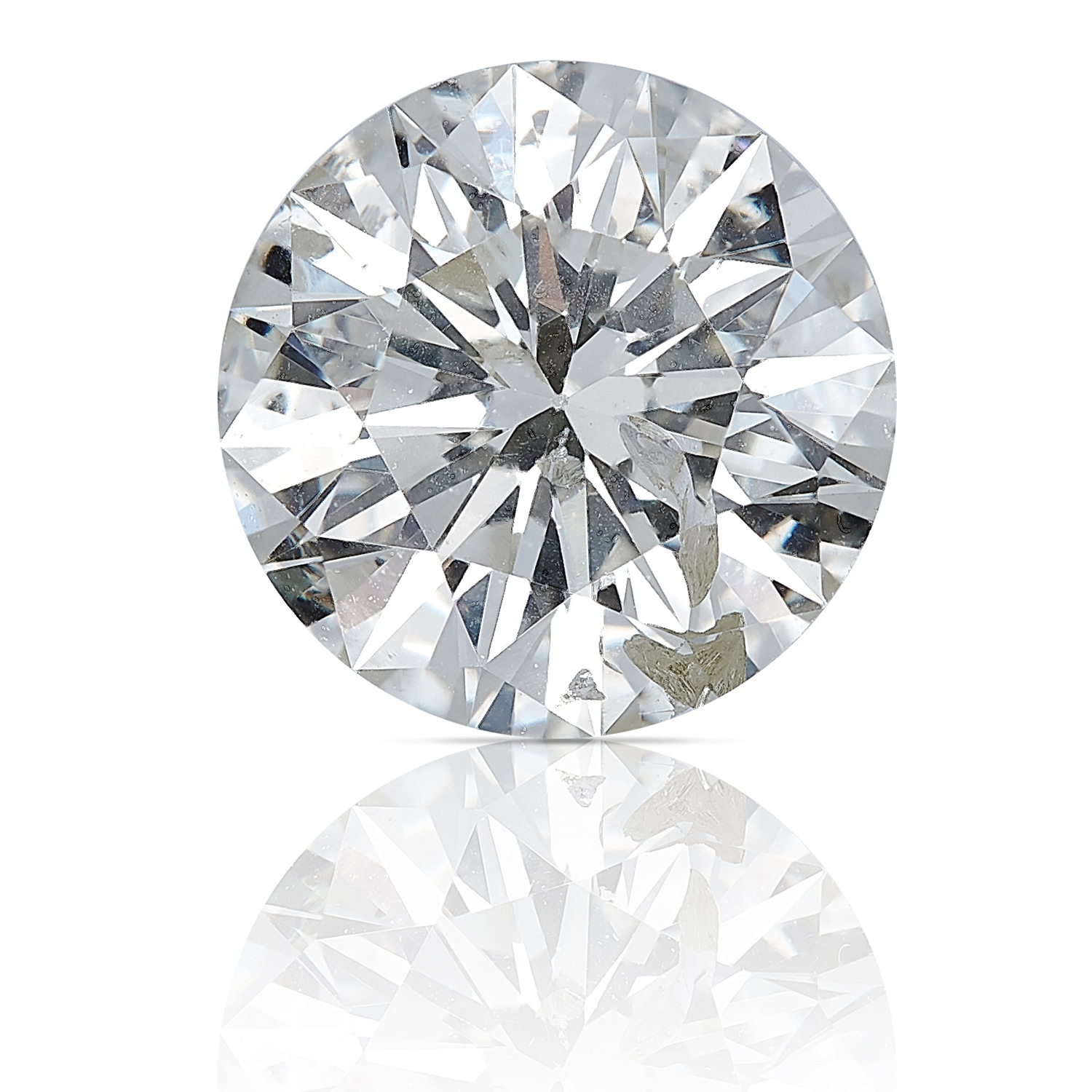 A ROUND CUT MODERN BRILLIANT DIAMOND TOTALLING 1.14cts, UNMOUNTED.