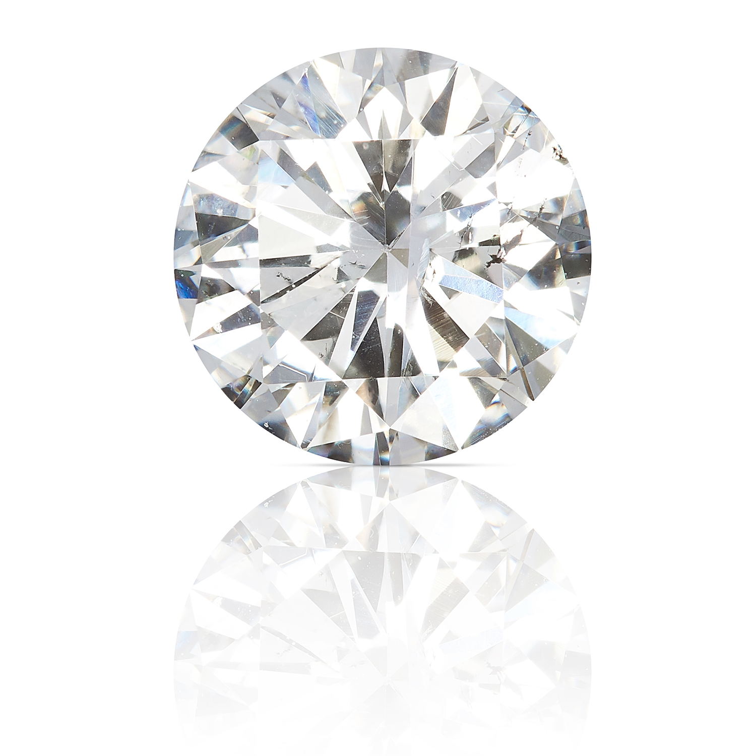 A ROUND CUT MODERN BRILLIANT DIAMOND TOTALLING 0.86cts, UNMOUNTED.