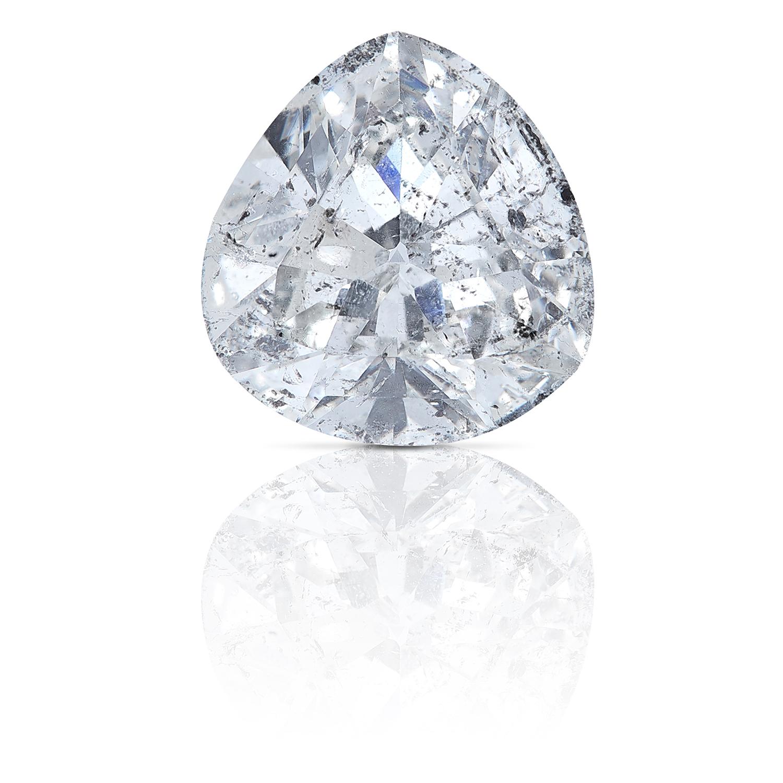 A 2.20ct FANCY SHAPED MODIFIED TRILLION CUT DIAMOND, UNMOUNTED.