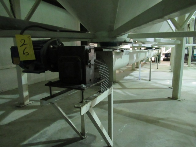 """Lot 26 - GEN 8""""X30', 1.5 HP GEAR DRIVE AUGER OUT-FEED CONVEYOR (NO WIRING)"""