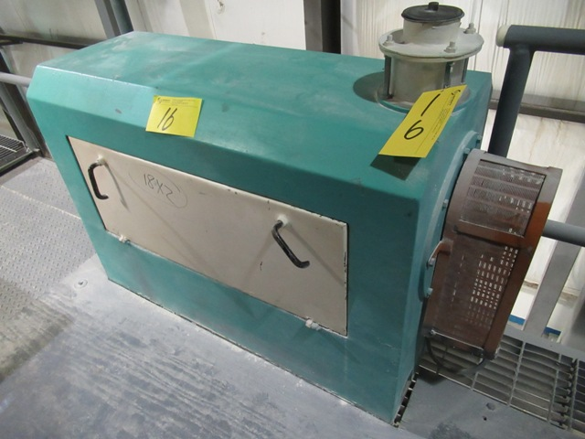 """Lot 16 - 2001 INDOPOL BP 1400 RPM, 30"""" APPROX. ROLLER GRINDING MILL S/N: 156 (NO WIRING)"""
