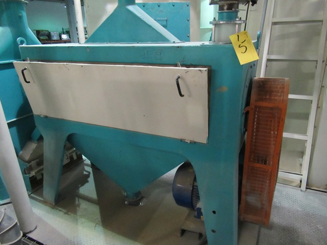 """Lot 15 - 2001 INDOPOL SC 50""""X10"""" APPROX. CAPACITY DOUBLE ROLLER GRINDING MILL S/N: 96 (NO WIRING)"""