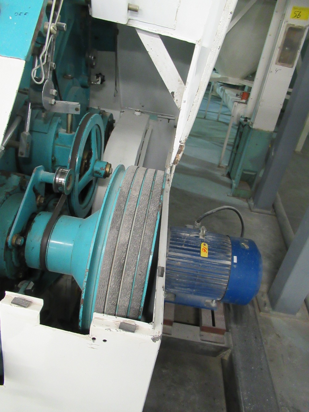 """Lot 9 - 2001 INDOPOL MM-1PRM04, 40""""X10"""" APPROX. DOUBLE ROLLER GRINDING MILL, 2 - 10 HP MOTORS S/N: 340 (NO"""