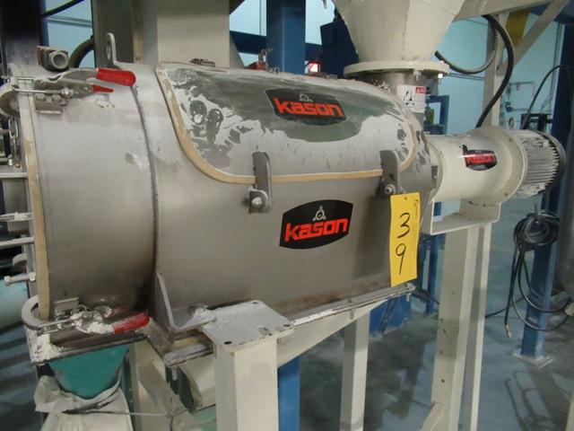 Lot 39 - KASON M03GB-SS Rotary Sifter, 2 HP, S/N: M7544 (NO WIRING)