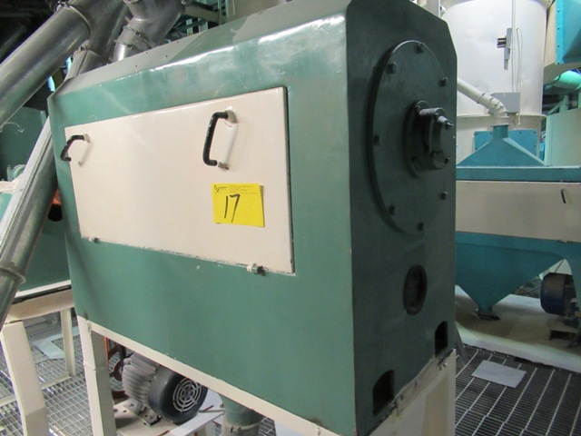 """Lot 17 - INDOPOL 1700 RPM, 5 HP, 30"""" APPROX. ROLLER GRINDING MILL (NO WIRING)"""