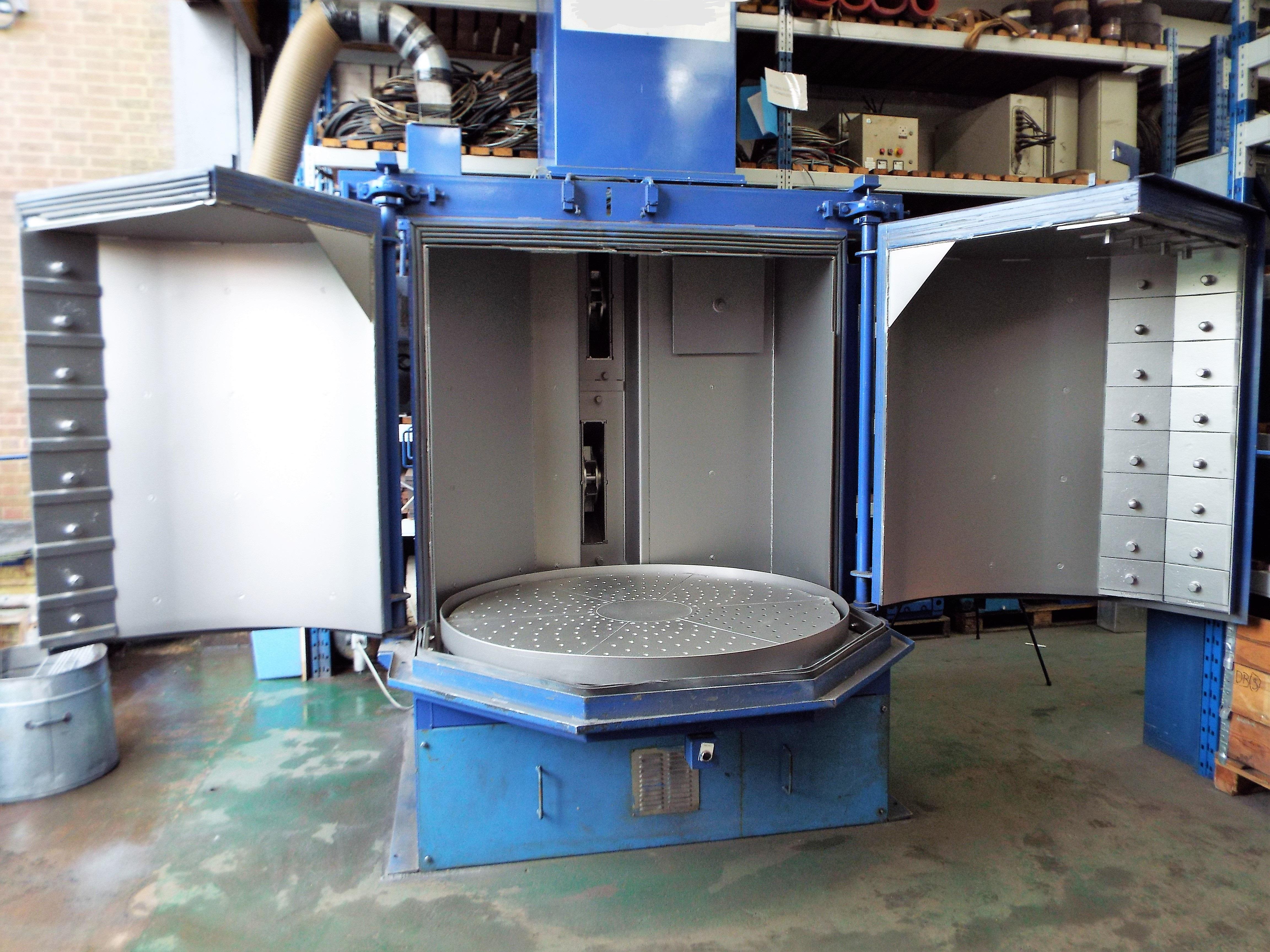 Lot 3 - Wheelabrator MLK1500-2 Automated Table Shot Blasting Machine