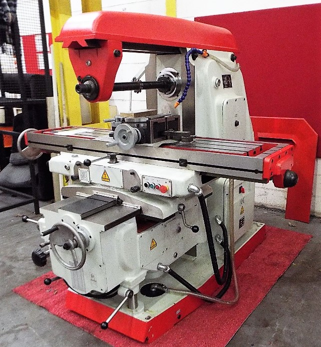 Lot 1a - Vertical Knee Type Milling Machine