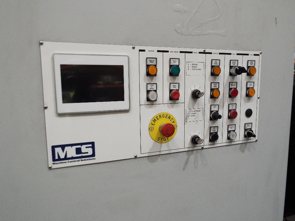Lot 22 - Rhodes RH80 Geared Press cw Updated MCS Control Cabinet