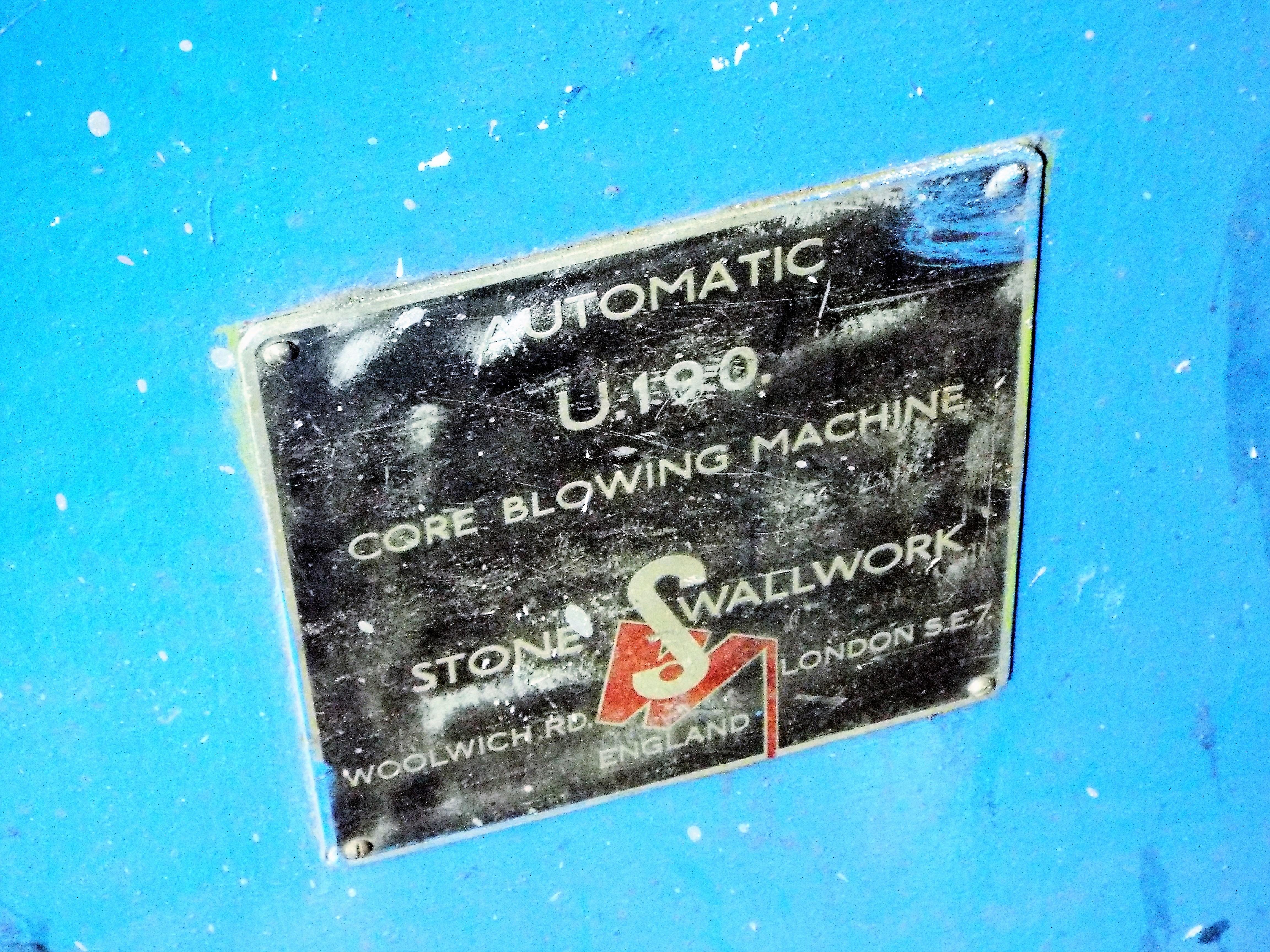 Lot 21 - Stone Wallwork Core Blower