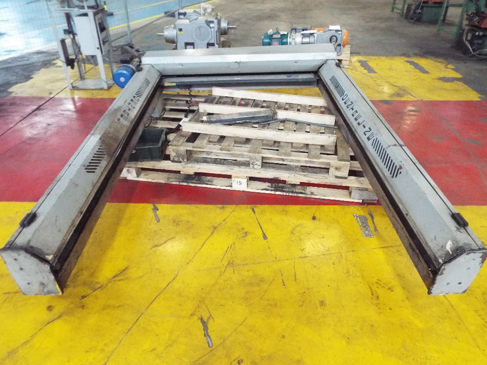 Lot 18 - Centreline Machine Guards Fast Rise & Fall Door