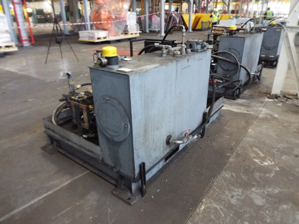 Lot 9 - Skid Mounted Hydraulic Pack