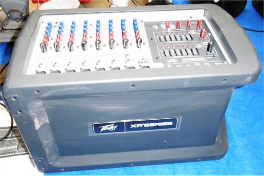 a peavey xr8600d 1200w power mixer c w manual rh i bidder com peavey xr8600d specs peavey xr8600d powered mixer manual