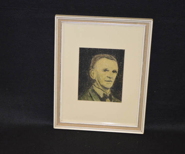 Lot 163 - A Pastel Drawing of William Connor, Believed to be a Self Portrait