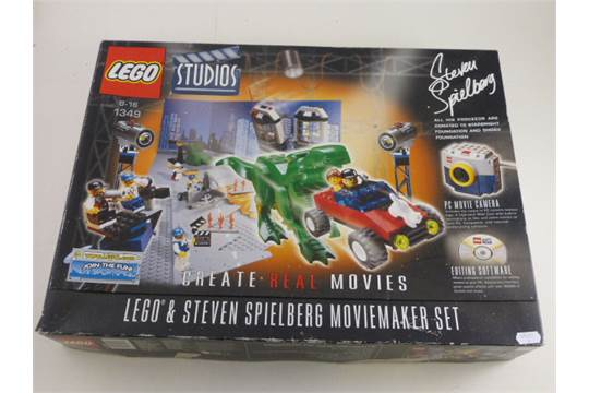 Boxed Lego Steven Spielberg Movie Maker Set 1349 (unchecked)