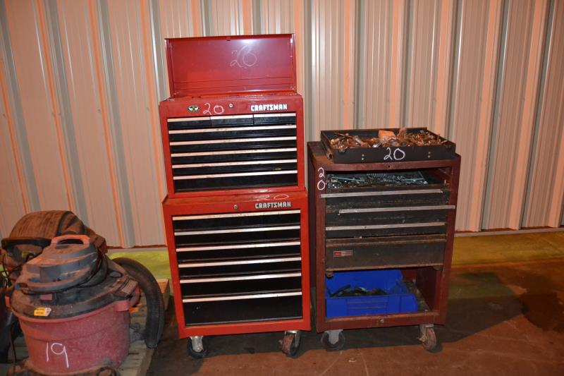 Lot 20 - 2 TOOL BOX & CONTENTS