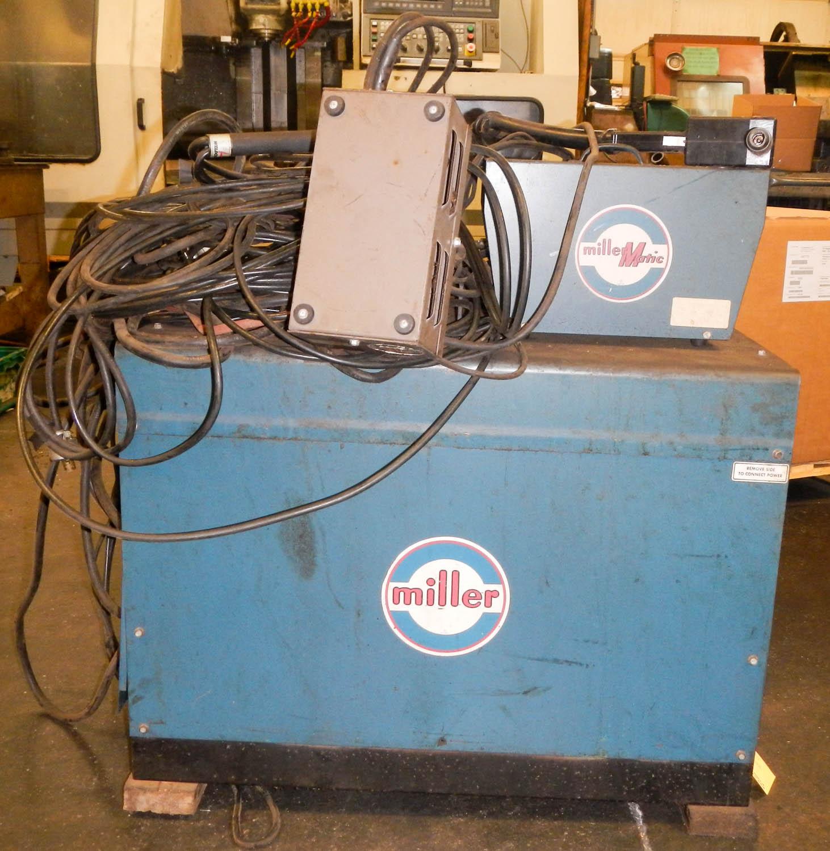 MILLER WELDER DIALARC HF 250-AMP AC/DC WELDING POWER SOURCE, WITH ...